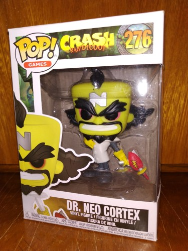 Funko Pop Crash Bandicoot- Dr. Neo Córtex 276-Crash Bandicoot-276