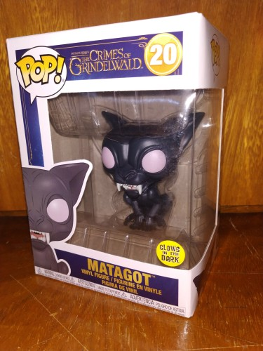 Funko Pop Crimes Of Grindewald - Matagot #20 - The Crimes Of Grindelwald - #20