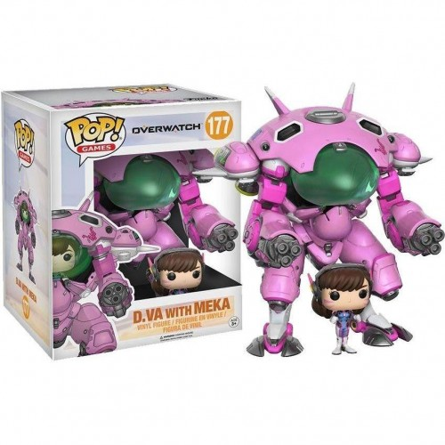 Funko Pop D.va With Meka - Overwatch - #177