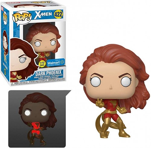 Funko Pop Dark Phoenix Glow In The Dark Exclusiva Walmart-X-Men-422