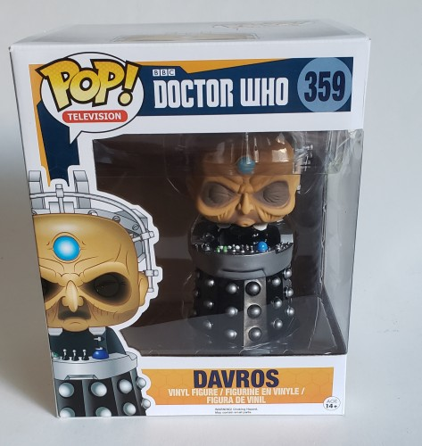 Funko Pop Davros Doctor Who-Doctor Who-359