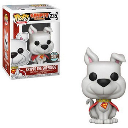 Funko Pop Dc Krypto O Super Cão Speciality Series Exclusive-Dc Comics-235