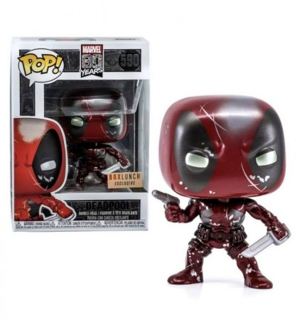 Funko Pop Deadpool Metalic  Exclusive Box Lunch-Deadpool-590