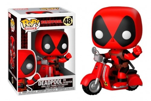 Funko Pop Deadpool On Scooter Marvel-Deadpool-48