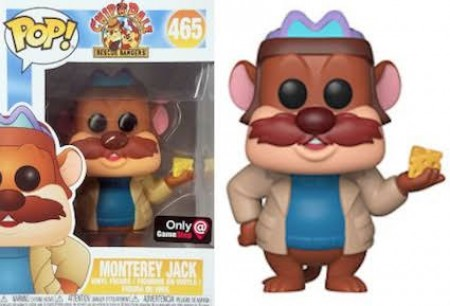 Funko Pop Dianey Chip 'n Dale - Monterey Jack 465 ( Game Stop )-Chip And Dale - Rescue Rangers-465