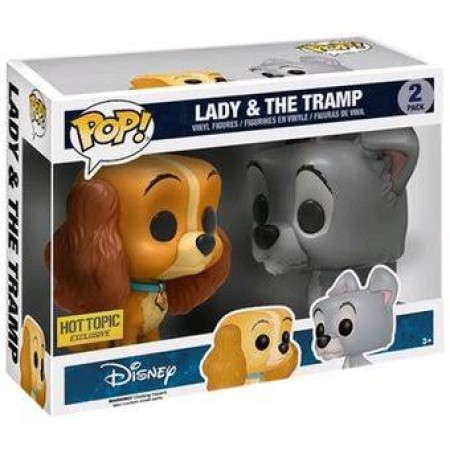 Funko Pop Disney- Lady & The Tramp (hot Topic)-Disney-2