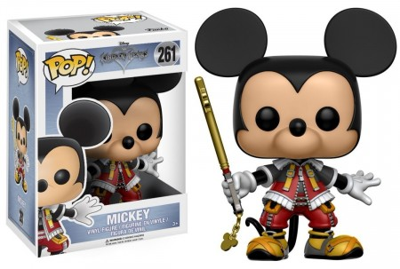Funko Pop Disney Kingdom Hearts: Mickey-Kingdown Hearts-261