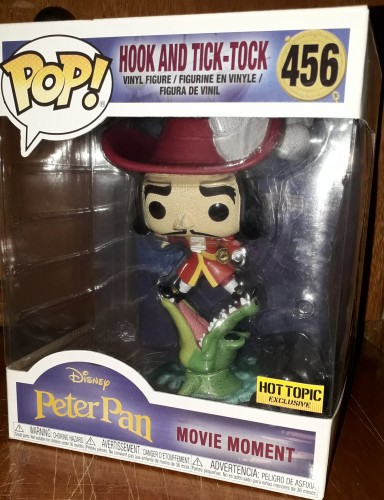 Funko Pop Disney Peter Pan- Hook And Tick-tock 456-Disney-456