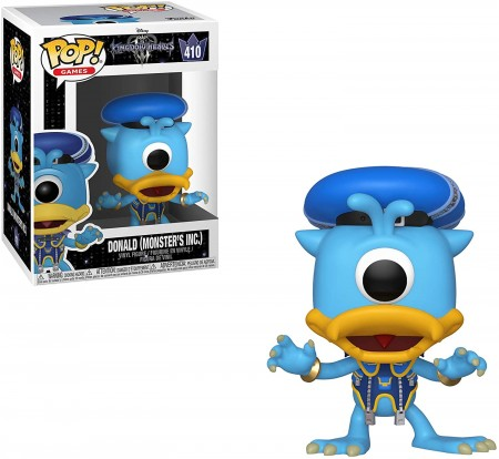 Funko Pop Donald (monster's Inc)-Kingdom Hearts 3-410