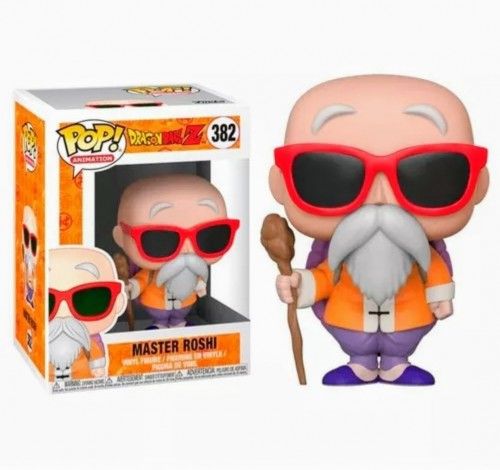 Funko Pop Dragon Ball Z - Master Roshi #382-dragon ball Z-383