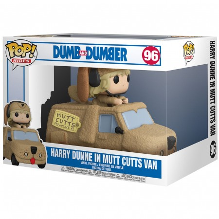 Funko Pop Dumb And Dumber - Harry Dunne In Mutts Cutts Van-Movies-96