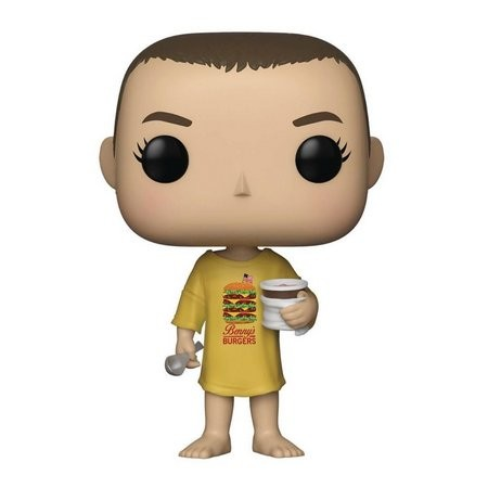 Funko Pop Eleven Burger T-shirt - Stranger Things - #718