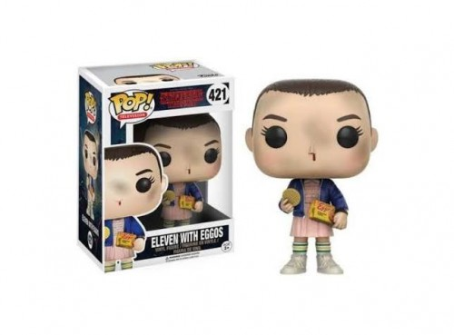 Funko Pop Eleven With Eggos-Stranger Things-421