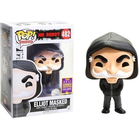 Funko Pop Elliot Masked Sdcc-Mr. Robot-482