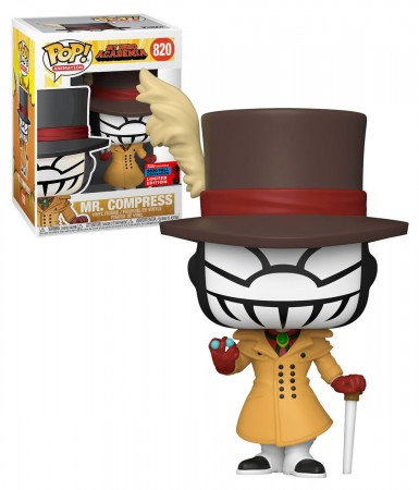 Funko Pop Exclusivo Nycc 2020 My Hero Academia Mr. Compress #820-NYCC 2020-820