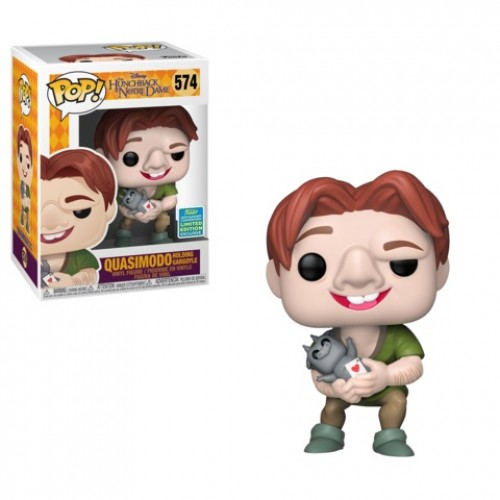 Funko Pop Exclusivo Sdcc 2019 Disney Quasimodo #574 Corcunda De Notre Dame-Disney-574