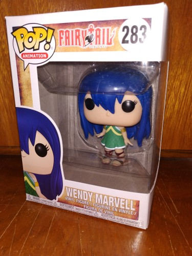 Funko Pop Fairy Tail- Wendy Marcello 283-Fairy Tail-283
