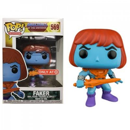 Funko Pop Faker Target-Masters of the Universe-569