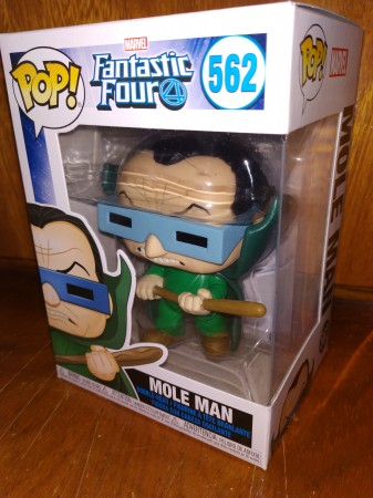 Funko Pop Fantastic Four- Mole Man 562 - Fantastic Four - #562