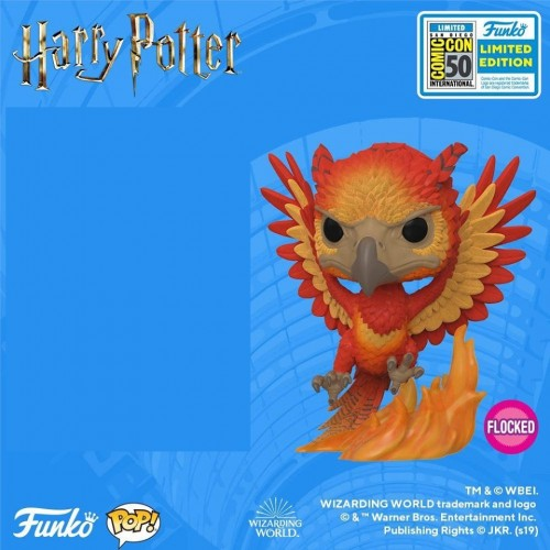 Funko Pop Fawkes Flocked Sdcc 2019-SDCC 2019-100