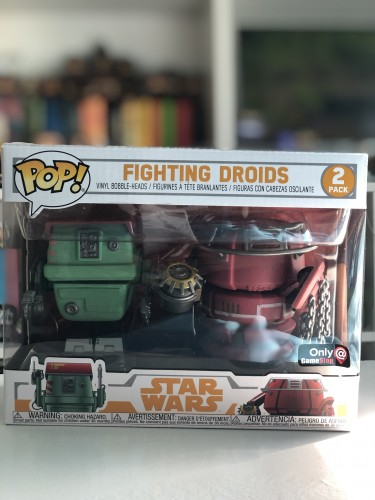 Funko Pop Fighting Droids-Star Wars-2