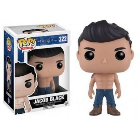 Funko Pop Filmes - Crepúsculo  - Jacob Black 322 *detalhes Na Caixa* - The Twilight Saga - #322