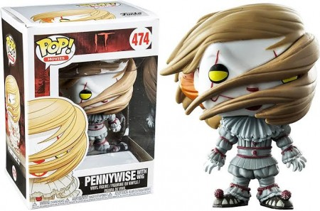 Funko Pop Filme - Terror: It A Coisa- Pennywise With Wig 474 - IT A Coisa - #474