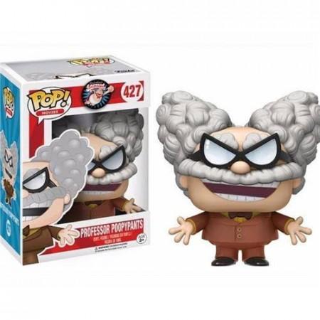 Funko Pop Filmes - Capitão Cueca - Professor Poopypants 427-Captain Underpants-427