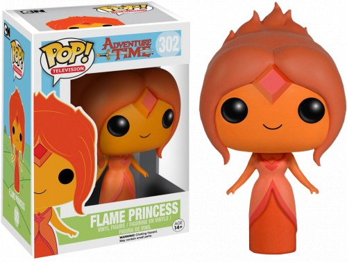 Funko Pop Flame Princess-Hora de Aventura-302