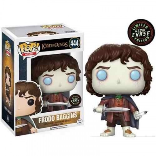Funko Pop Frodo Baggins Glow Chase Lord Of The Rings-Senhor dos Anéis-444