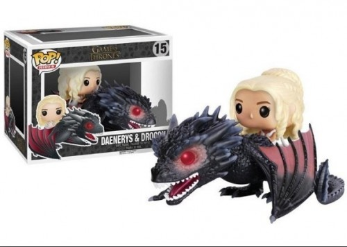 Funko Pop Game Of Thrones- Daenerys & Drogon 15-Game of Thrones-15