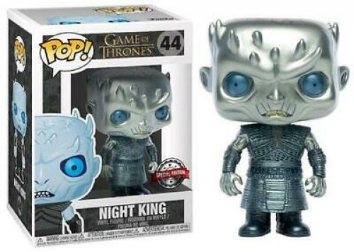 Funko Pop Game Of Thrones- Night King Metálico 44-Game of Thrones-44