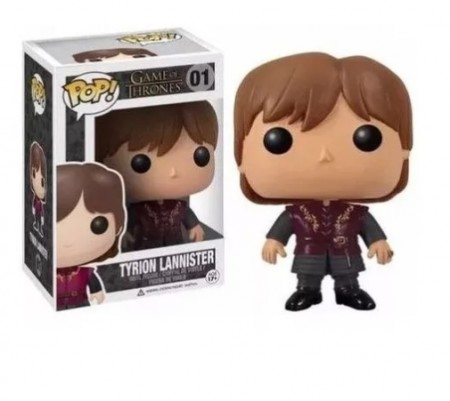 Funko Pop Game Of Thrones 1 - Tyron Lannister-got-1