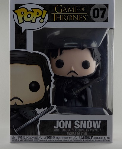 Funko Pop Game Of Thrones Jon Snow 07 Original - Game of Thrones - #7