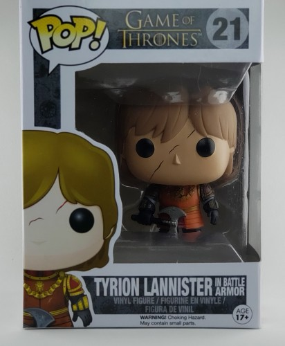 Funko Pop Game Of Thrones Tyrion Lannister 21 Original-Game of Thrones-21