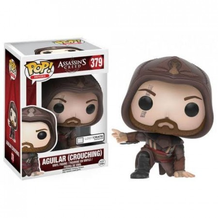 Funko Pop Games -  Assassins Creed - Aguilar ( Crouching ) 379-Assassins Creed-379