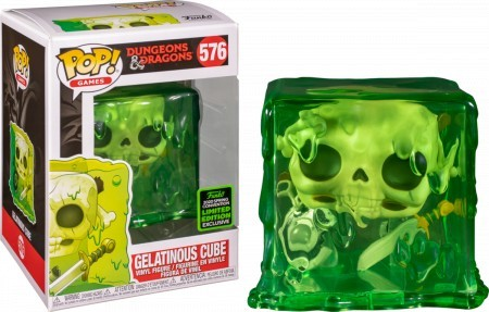 Funko Pop Games  - Dungeons & Dragons Sdcc2020 - Gelatinous Cube 576-Dungeons & Dragons-576
