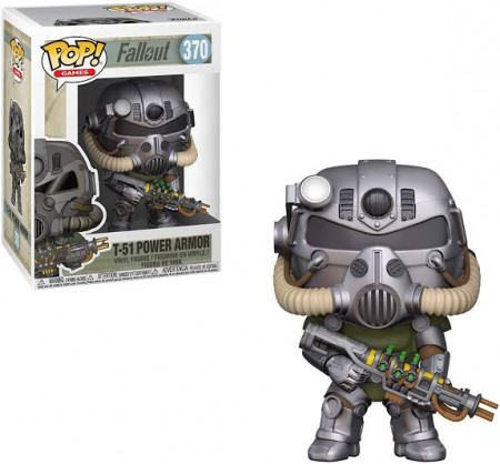 Funko Pop Games  - Fallout - T-51 Power Armor 370-Fallout-370