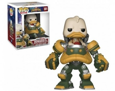 Funko Pop Games - Contes Of Champions  - Howard The Duck 301 * Danos Na Caixa*-marvel-301