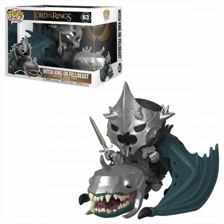 Funko Pop Witch King On Fellbeast - O Senhor Dos Anéis-Lord Of The Rings-63