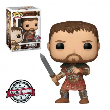 Funko Pop Gladiador Maximus With Armor Ex-Gladiator-860