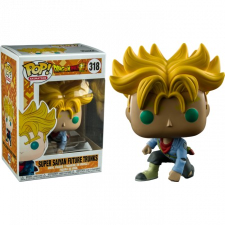 Funko Pop Super Saiyan Future Trunks-Dragon Ball-318