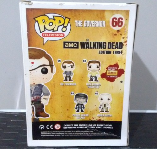 Funko Pop Governador Bloody - The Walking Dead - #66