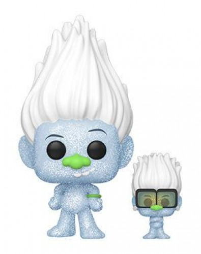 Funko Pop Guy Diamond With Tiny Diamond-Trolls World Tour-100
