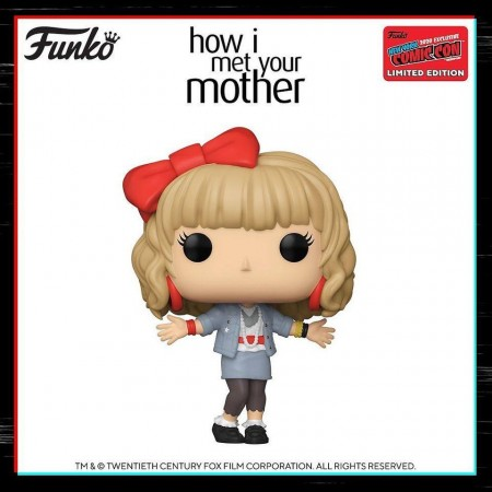 Funko Pop Himym Robin Sparkles Exclusivo Nycc 2020-How I Met Your Mother-1040