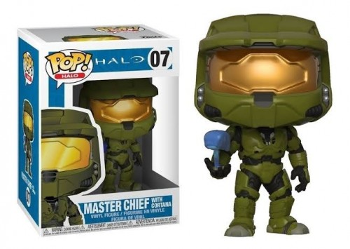 Funko Pop Halo Master Chief With Cortana-Halo-7
