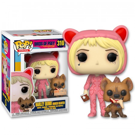 Funko Pop Harley Quinn Exclusiva Boxlunch-Aves de Rapina-310