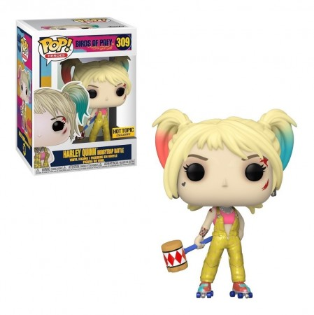 Funko Pop Harley Quinn Exclusiva Hottopic-Aves de Rapina-309