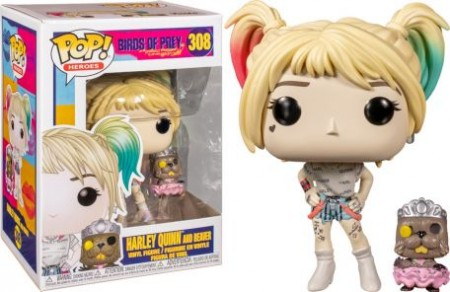 Funko Pop Harley Quinn And Beaver-Birds Of Prey-308
