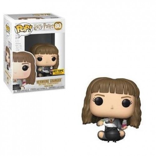 Funko Pop Harry Potter - Hermione Hot Topic 80 + Filtcher Sdcc-Harry Potter-80